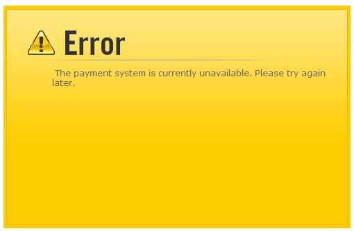 tax payment error